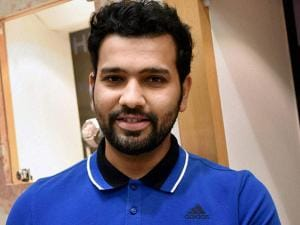 Cricketer Rohit Sharma during a promotional event for Hublot Watch in Bengaluru