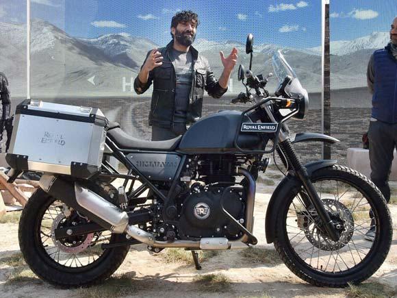 Himalayan royal enfield,Royal enfield,Launch of himalayan,Motorcycle,Bike,Royal Enfield 2016, royal enfield new launch,Royal enfield news