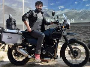 Siddhartha Lal, MD & CEO, Eicher Motors Ltd at the launch of Himalayan