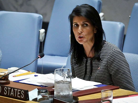 Nikki Haley, Syria chemical attack, UNSC, Russia, United Nations Security Council