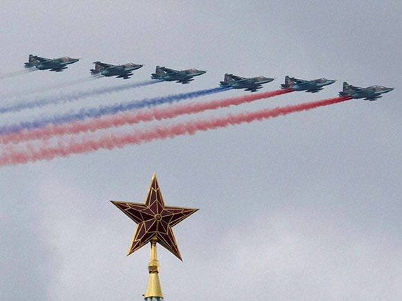 Kremlin, Russian Air Force, Russian Air Force Su-25, Moscow's Kremlin, Victory Day military, Moscow Red Square, World War, world war 1, world war 2, Moscow, Russia