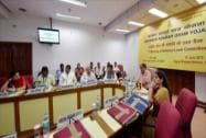 First National Level Committee meeting on Saansad Adarsh Gram Yojana in New Delhi