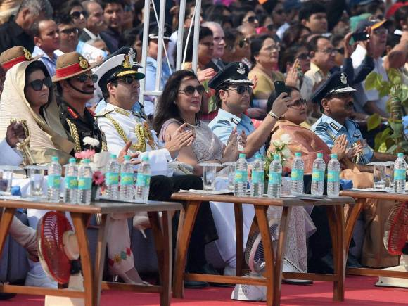 Sachin Tendulkar, Air Force Day celebrations