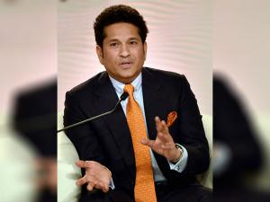 Cricket legend Sachin Tendulkar speaks at the 'HT Leadership Summit 2016'