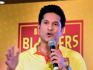 Sachin Tendulkar  Former Cricketer and Co owner of  Bengaluru Blasters