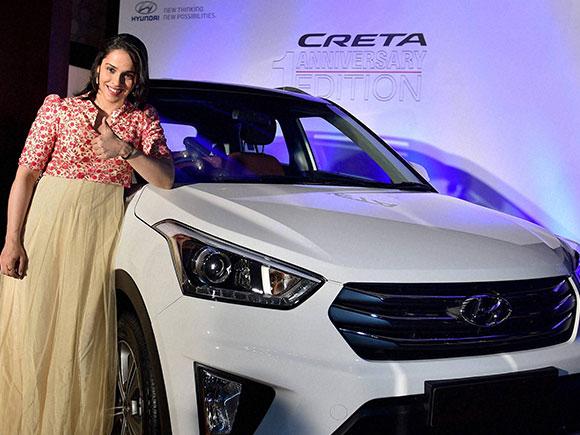 Creta, Hyundai Creta, Saina Nehwal, Hyundai Motor India Limited