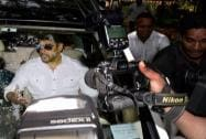 Salman Khan arrives at Session Court  in Mumbai