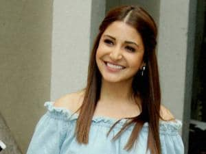 Anushka Sharma during a press conference for their film 'Sultan' Movie