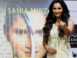 Sania Mirza at the launch of her book 'Ace against Odds' in Mumbai