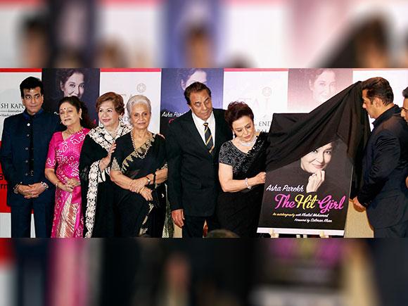 Jeetendra, Aruna Irani, Helen, Waheeda Rehman, Dharmendra, Salman Khan