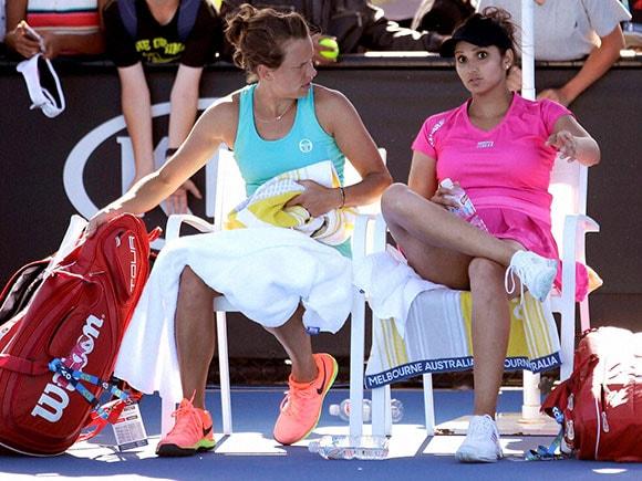 Sania Mirza, Australian Open, Barbora Strycova, tennis, Australia