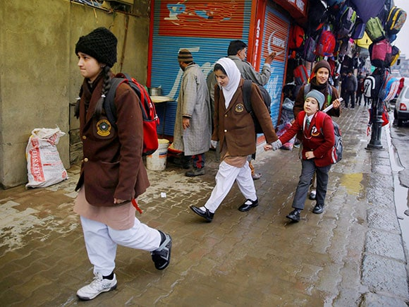 Schools re-opened, Kashmir, school, winter break, Srinagar