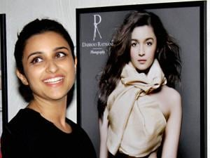 Parineeti Chopra during annual calendar launch of Fashion Photographer Dabboo Ratnani