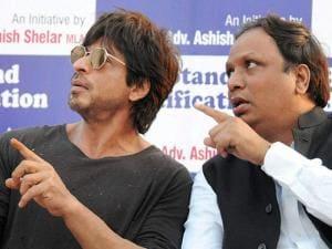 Shahrukh Khan and MLA Ashish Shelar