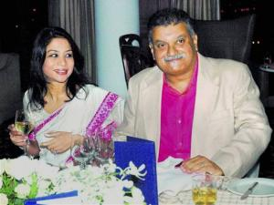 Indrani Mukerjea and her husband Peter Mukerjea