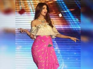 Shilpa Shetty at the launch event of dance reality show Super Dancer
