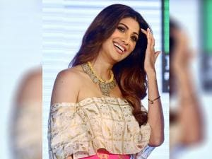 Shilpa Shetty at the launch event of dance reality show Super Dancer, in Mumbai