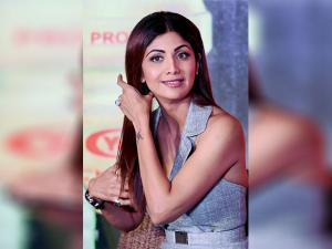 Shilpa Shetty at a promotional event in New Delhi