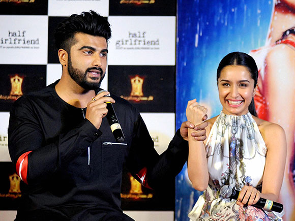 Half Girlfriend, Baarish, Shraddha Kapoor, Half Girlfriend trailer, Arjun Kapoor