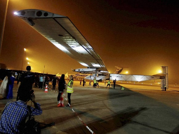 Solar, aircraft SI-2, Swiss aircraft,  Solar Flight, Solar Impulse, Solar Energy, Swiss, Ahmedabad