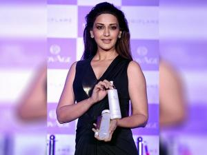 Sonali Bendre during the launch of new skin care products from 'Oriflame' in Mumbai