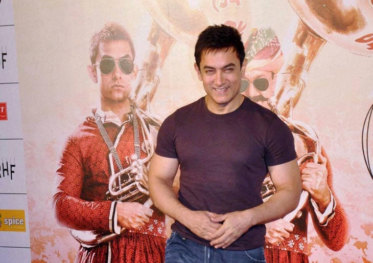Bollywood actor, Aamir Khan, song, launch, upcoming, movie, PK, Noida