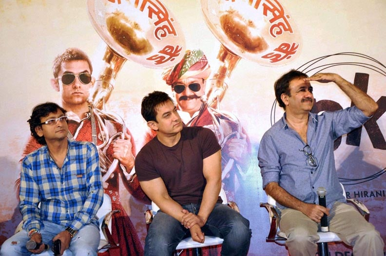 Bollywood actor, Aamir Khan, filmmaker, Rajkumar Hirani, song, launch, upcoming, movie, PK, Noida