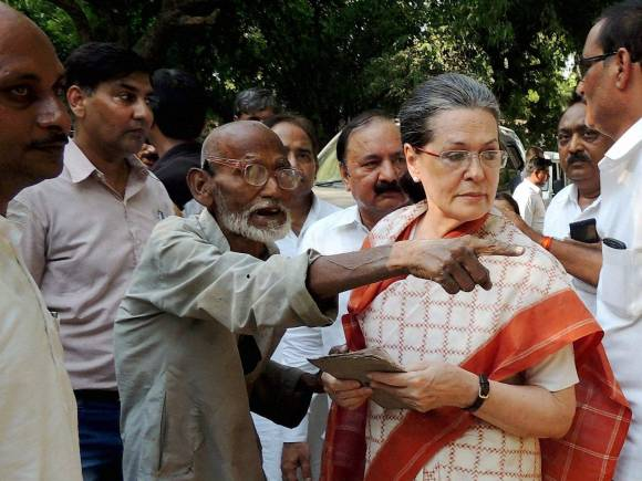 Sonia Gandhi, Congress, Rae Bareli, Congress President Sonia Gandhi, Road Accident, Road accident victim
