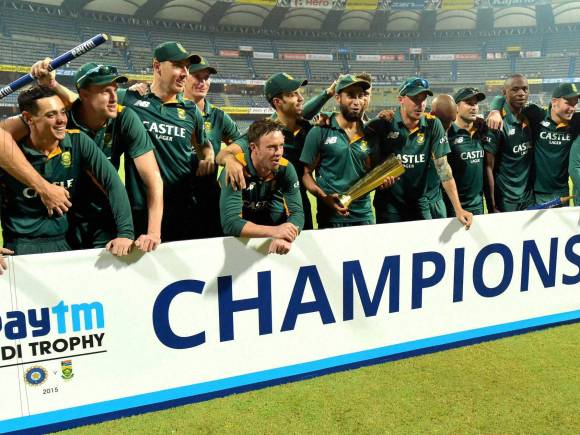 South Africa series win, South Africa vs India Series, Ajinkya Rahane, AB De Villiers, Faf du Plessis, MS Dhoni, Quinton de Kock, Virat Kohali, Sachin Tendulkar, Zahir Khan, Rohit Sharma, South Africa in India Series 2015, Cricket, Live Score, Live Cricket Score