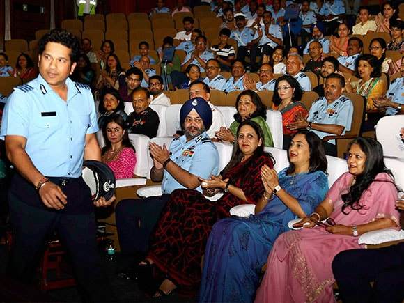 Sachin A Billion Dreams, Sachin Tendulkar, BS Dhanoa, Air Chief Marshal, Indian Air force