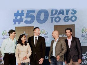Star Sports panel of experts, including Ian Thorpe, Prakash Padukone, Anjali Bhagwat, Viren Rasqui-nha and Rehan Poncha 03