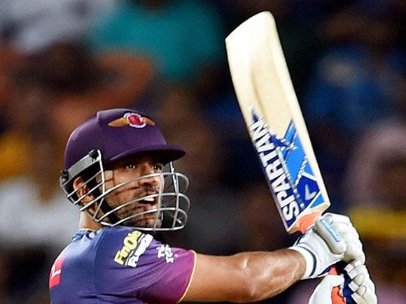 M S Dhoni, Rising Pune Supergiants, Mumbai Indians, IPL 2017