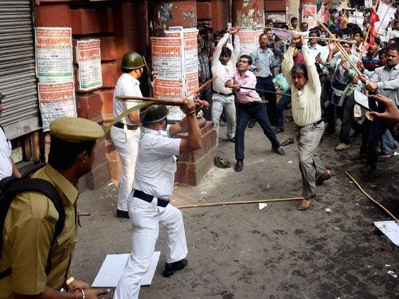 SUCI Rally, Mamata Banerjee, Kolkata  Police