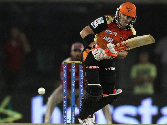 David Warner, IPL, Pepsi IPL, Sunrisers Hyderabad, Kings XI Punjab