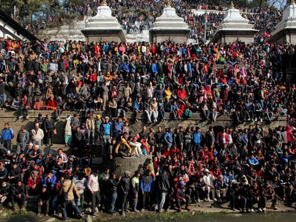 Sushil Koirala, Cremation, Prime Minister of  Nepal , Sushil Koirala's death, Nepal, India, Supporters
