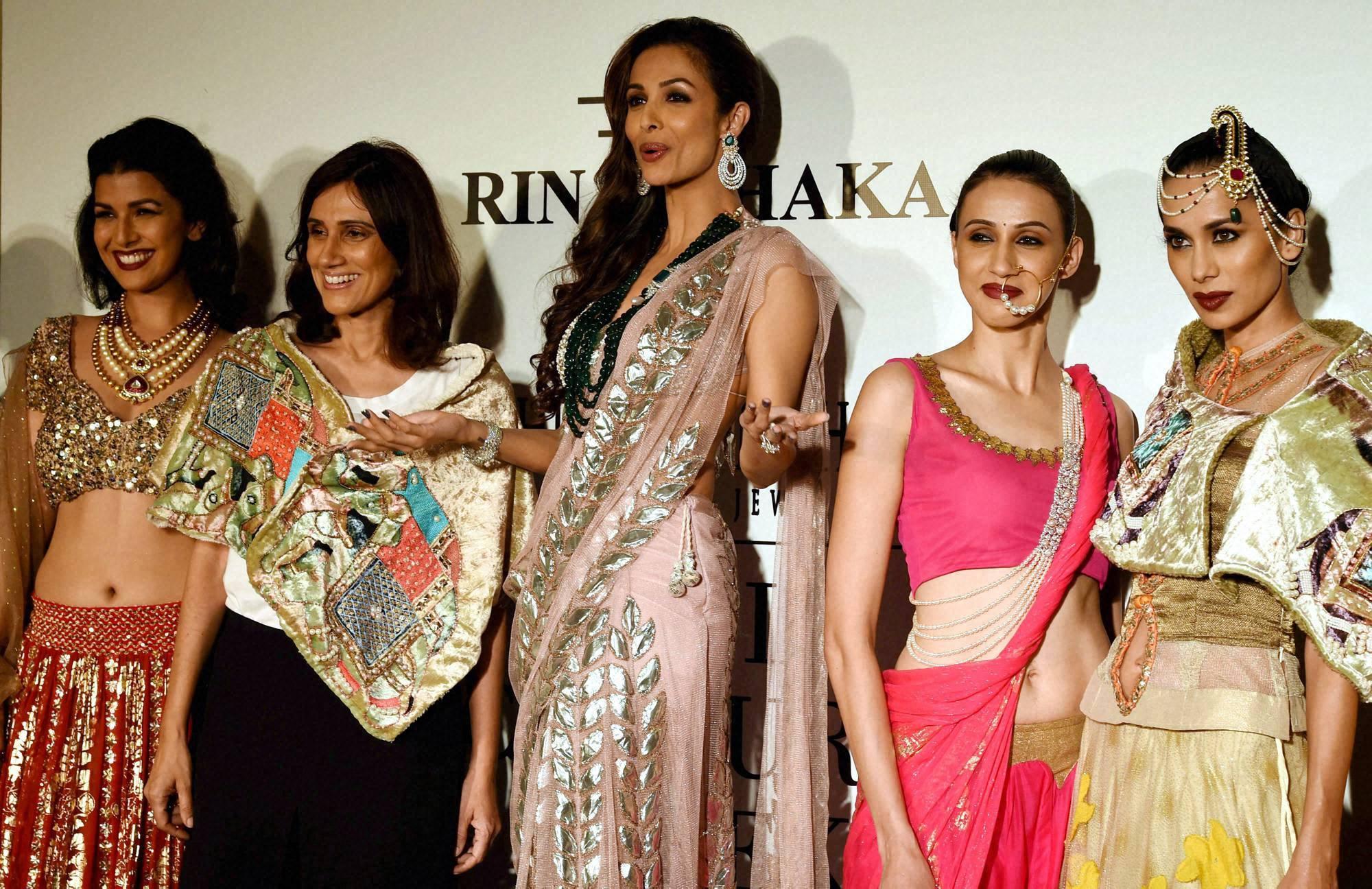 Actor, Malaika Arora Khan, India, Couture Week, 2014, New Delhi,