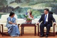 Indian Foreign Minister Sushma Swaraj visit to China