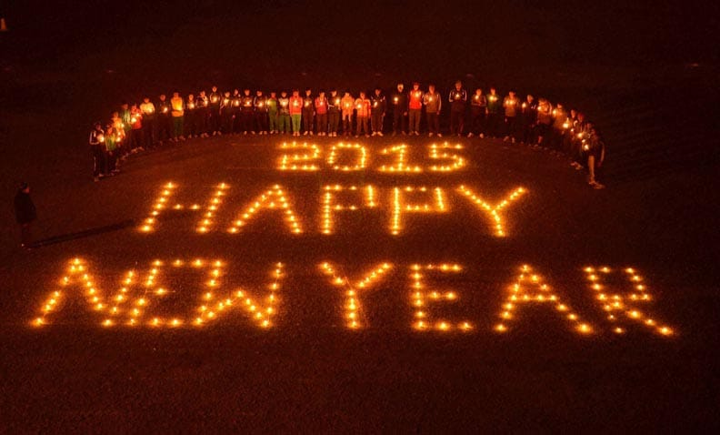Happy New Year, New Year celebrations, new year, 2015, good bye 2014, 31st december