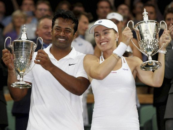 Leander Paes, Paes, Martina Hingis, Tennis, Tennis Championship, Switzerland, London, England, Austria, Alexander Peya, Timea Babos, Hungary, Mixed Doubles Final, Wimbledon, Triple glory, India's Glory Year