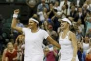 Martina Hingis and Sania Mirza