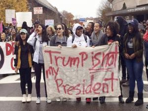 Trump triumphs: Discontent pours on US streets
