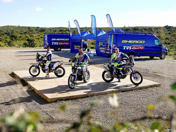 Dakar rally, TVS, Dakar 2017 rally, TVS racing, Dirt bike, Rally
