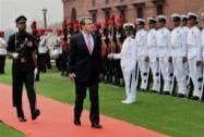 U.S. Defence Secretary receives Guard of Honour at South Block