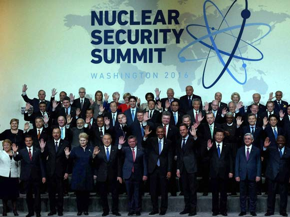 Nuclear Summit 2016, Nuclear Summit Washington, Nuclear Summit Obama, Barack Obama, Narendra Modi, Nuclear stockpile, Russia, China, Japan, World Leaders Nuclear Security Summit