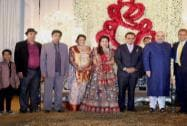 Anil Ambani at the wedding reception of BJP President Amit Shah's son Jay and Rishita