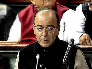 Union Finance Minister Arun Jaitley presenting the Union Budget 2017-18 in Lok Sabha in New Delhi