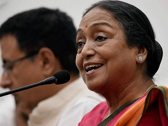 Meira Kumar, Presidential Candidate, UPA, Congress