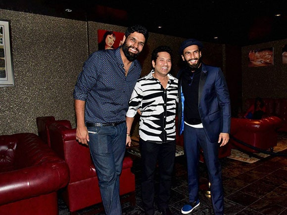 Sachin A Billion Dream, Sachin Tendulkar, Ranveer Singh, Ravi Bhagchandka, birthday bash
