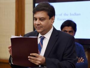 RBI Governor Urjit Patel at the FSDC eeting at North Block