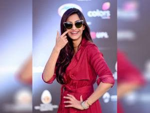 Sonam Kapoor during the Global Citizen India event in Mumbai